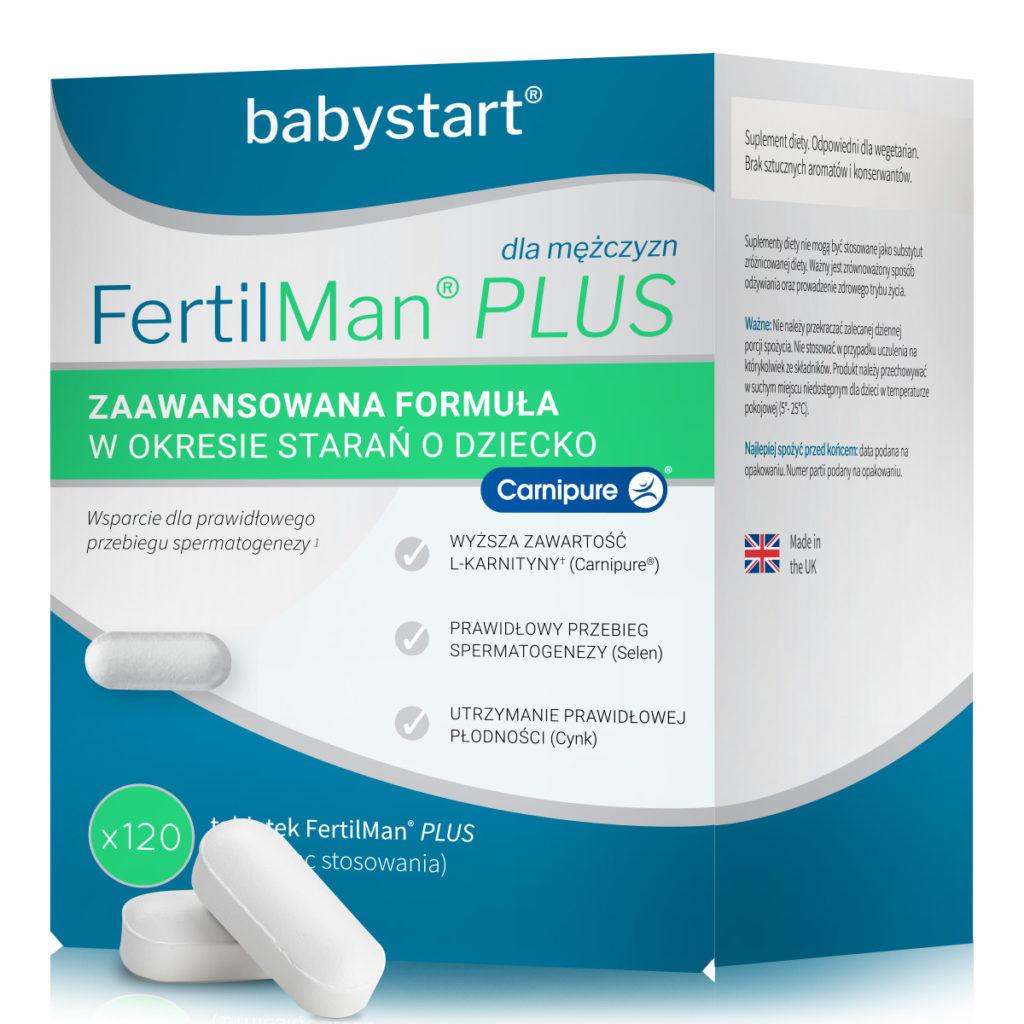 FertilMan Plus na poprawęjakości nasienia parametrów spermy