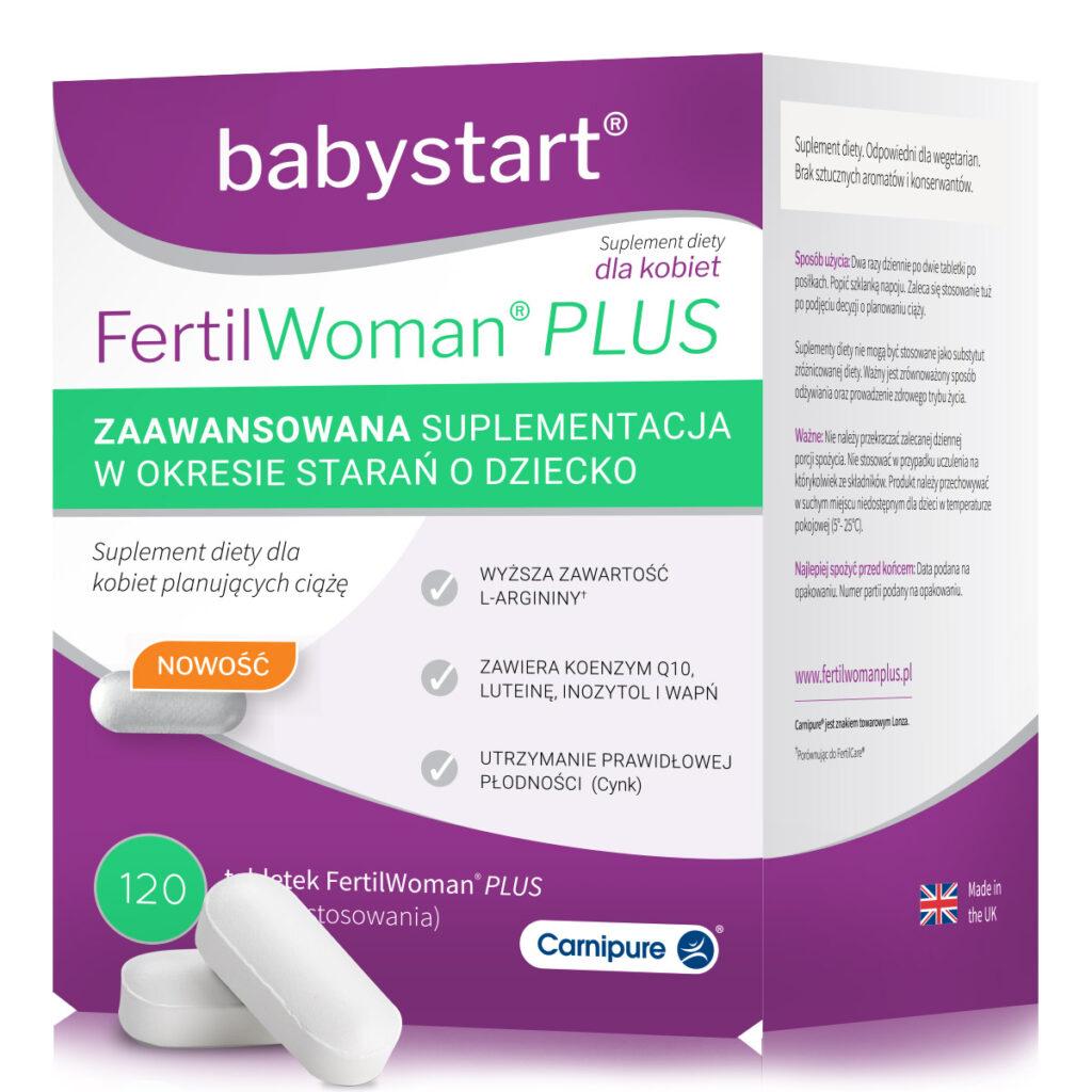 FertilWoman Plus dla kobiet na poprawę płodności